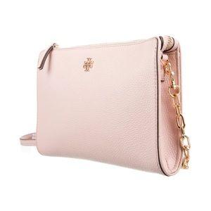 TORY BURCH Pink Carter Slim Crossbody Bag NWT